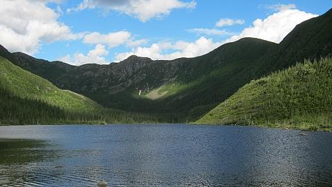 View of Gaspesie National Park