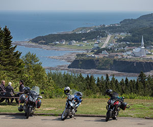 Gaspésie à Moto / by motorcycle